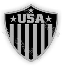 American Flag Usa Black Ops Shield Hard Hat Sticker | Stealth Helmet Decal