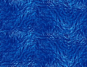 Blue Water Base Accessory Sheets for Action Figures and Dioramas -5 Count
