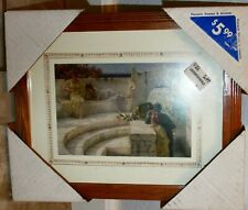 "Pinnacle oak wood 9.25""x11.25"" Picture Frame for 8x10 or 5x7 photo hangs wall"