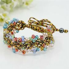 Colorful Braided Crystals Bracelet by HAIR ASIA