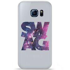 Coque Housse Etui Samsung Galaxy S7 Edge silicone gel motif Swag Space