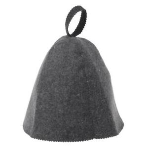 Wool Felt Sauna Hat Anti Heat Russian Banya Cap For Bath House Head Protection
