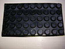 40 Gummifüße schwarz  ca 6 mm * ca 15 mm Durchmesser rund, 8021