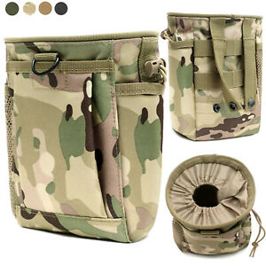 Tactical Molle Drop Dump Pouch Military Magazine Hunting Accessory Utility Bag
