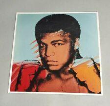 Muhammad Ali Andy Warhol Litho Lithograph Print RARE