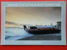 POSTCARD WORLD'S FIRST SCHEDULED HOVERMAIL - PORTSMOUTH-ISLE OF WIGHT