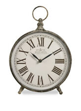 Norida Brass Bronze Antique Desk Clock Metal Iron Movement Decor Imax 97112 00004000