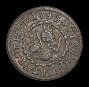 SPAIN. Philip V, 2 Maravedis, 1745