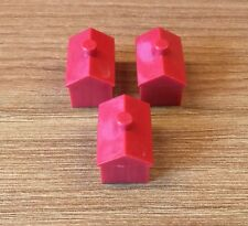 Monopoly Junior Spare Replacement 3 Red Ticket Booths
