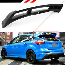 FITS FOR 2012-2018 FORD FOCUS ST SE HATCHBACK RS STYLE REAR ROOF SPOILER WING