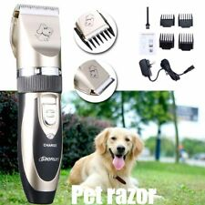 Electric Pet Hair Trimmer Shaver Razor Dog Cat Grooming Quiet Clipper Animal New