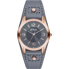 s.Oliver 30 m (3 ATM) Elegante Armbanduhren mit 12-Stunden-Zifferblatt