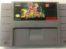 Mighty Morphin Power Rangers (SNES Super Nintendo Entertainment System, 1994)