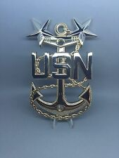 "Master Chief Petty Officer MCPO Anchor 5"" Metal Plated Anchors"
