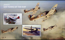 Jersey 2018 MNH Royal Air Force RAF 100 Hawker Hurricane 2v M/S Aviation Stamps