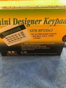 Napco Gemini GEM-RP2ASe2 Alphanumeric Keypad GEM-P816 P1632 P3200 P9600 GEMX255