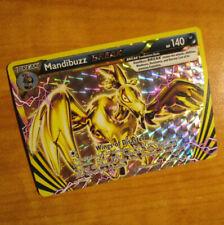NM Pokemon MANDIBUZZ BREAK Card BLACK STAR PROMO Set XY182 Holo Collection Box