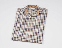GANT Men's Checked long Sleeved Casual Shirt Size Medium
