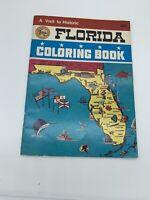 Vintage Florida Coloring Book 1973