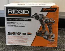 Ridgid R9205 18V Compact Drill Kit NEW #4