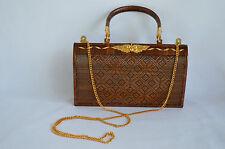 Handmade Collectible Yan Lipao Crossbody Evening Handbag Unique Gift Thailand