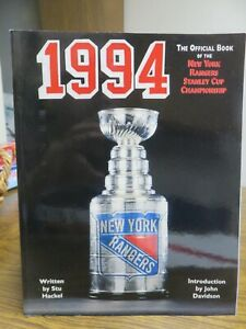 1994 THE OFFICIAL BOOK OF THE NEW YORK RANGERS STANLEY CUP CHAMPIONSHIP