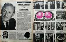"""Lesley Philips Dit """" I'M Lucky """" / Return Of The Fly Vincent Prix Articles 1959"""