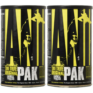 Universal Nutrition Animal Pak Dietary Supplement - 88 Packs (Two 44 Packs)
