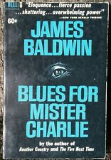 Blues For Mister Charlie James Baldwin 1964 Civil Rights Black Power OOP Rare!