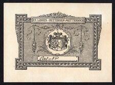 38)Nr.028- EXLIBRIS- Künstler unbekannt, für Oettingen-Metternich, Heraldik