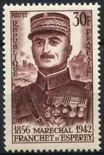 France 1956 SG#1289 Marshal Franchet D'Esperey MH #E5891