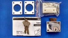 Schlage CL2000PB 626 Cabinet Lock - Drawer, Satin Chrome, Keyed Alike, Schlage C
