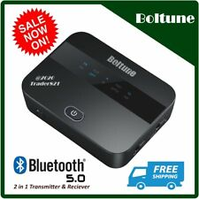 Boltune aptX Low Latency, 2 in 1 Bluetooth V5.0 Transmitter Receiver, Bt-Ba001
