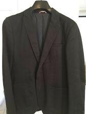 Veste costume blazer taille L 100% Coton Celio bleu marine/noir Très bon état