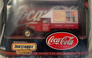"""COCA COLA 1932 Ford 1:32 Model AA Truck """"MATCHBOX"""" COLLECTIBLES 1999"""