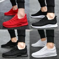 Men's Casual Sport Shoes Breathable Walking Athletic Running Tennis Sneakers Gym