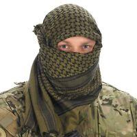 NEW ARMY GREEN ARAB SHEMAGH SCARF SAS SF CADETS TA PARA SURVIVAL 100% Cotton
