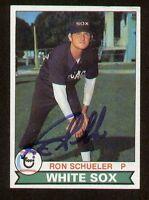 Ron Schueler #686 signed autograph auto 1979 Topps Baseball Trading Card