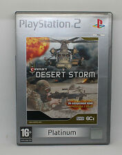 CONFLICT DESERT STORM     SONY PS2 PLAY STATION PS 2
