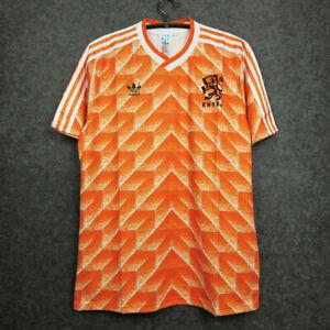 1988 Holland Home Retro Soccer Jersey