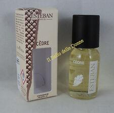 ESTEBAN concentré de parfum 15ml CEDRE cedar x brumizzatori pot-pourri