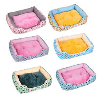 Pet Dog Cat Winter Warm Bed With Mat Pad Cute Warm Puppy Kitten House Supply