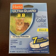 2 Pack Hartz Ultraguard Flea & Tick Collar For Cats Kittens 7 Month Protection