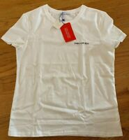 Zara Woman Join Life Top Tee Shirt New with Tags White A/W 18/19 Small