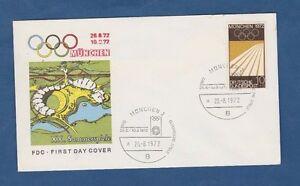 Orig.Ersttagsbrief   Olympische Spiele MÜNCHEN 1972 - Eröffnung 26.08.1972  !!