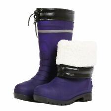Winter new warm plus velvet thick rain shoes for men tall tube,blue-44