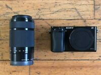 sony a6000 w/ lens!