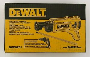 Dewalt DCF6201 Collated Drywall Screwgun Magazine Attachment for DCF620 NEW