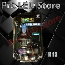 H13 9008 Halogen Headlight Bulbs Crystal Blue 8000K 100/90W