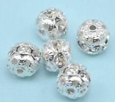 Perline sfuse di strass Dimensioni 10